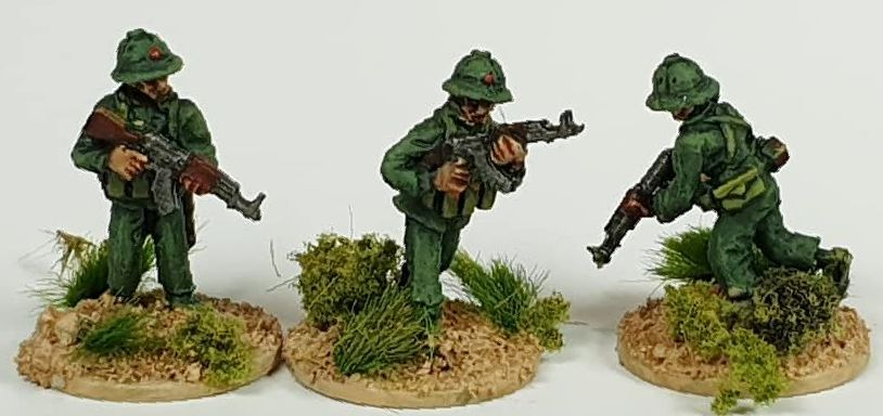 NVA03 North Vietnam Army Advancing with AK47