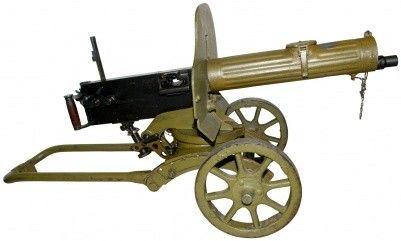 GUN14 Russian MAXIM MMG
