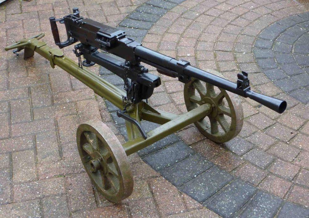 GUN28 Soviet SG43 MMG