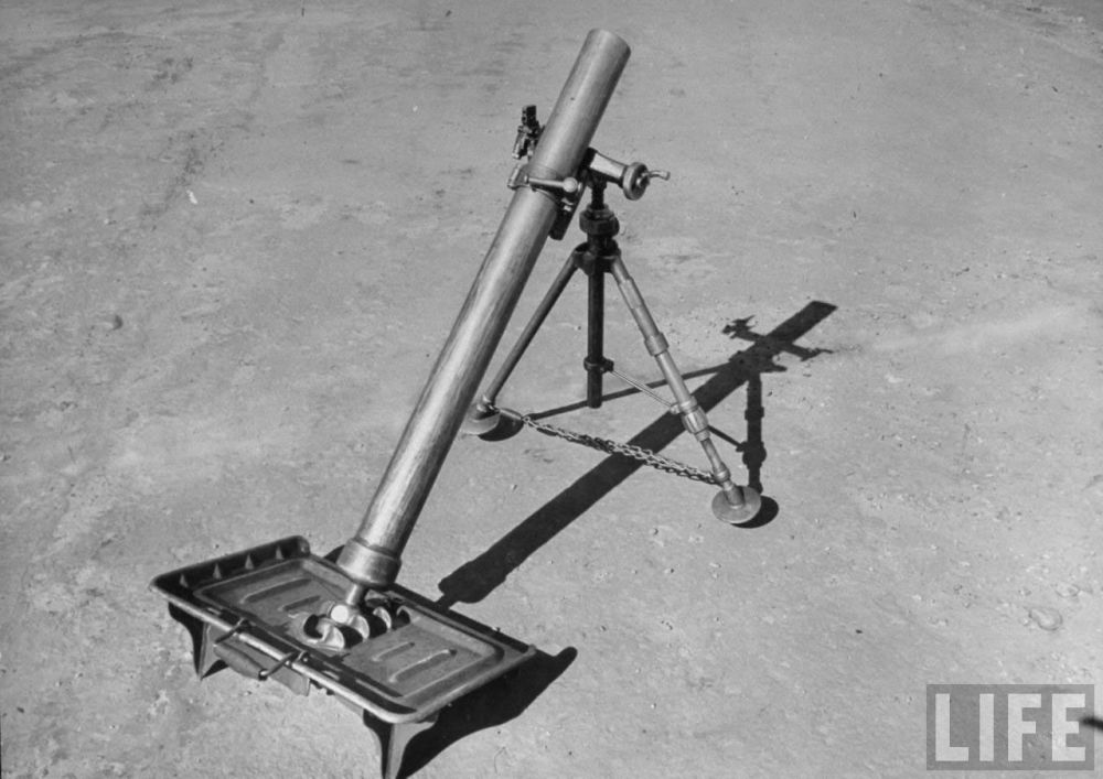 GUN12 US 81mm Mortar