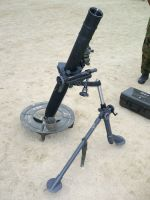 GUN25 British 81mm L16 Mortar