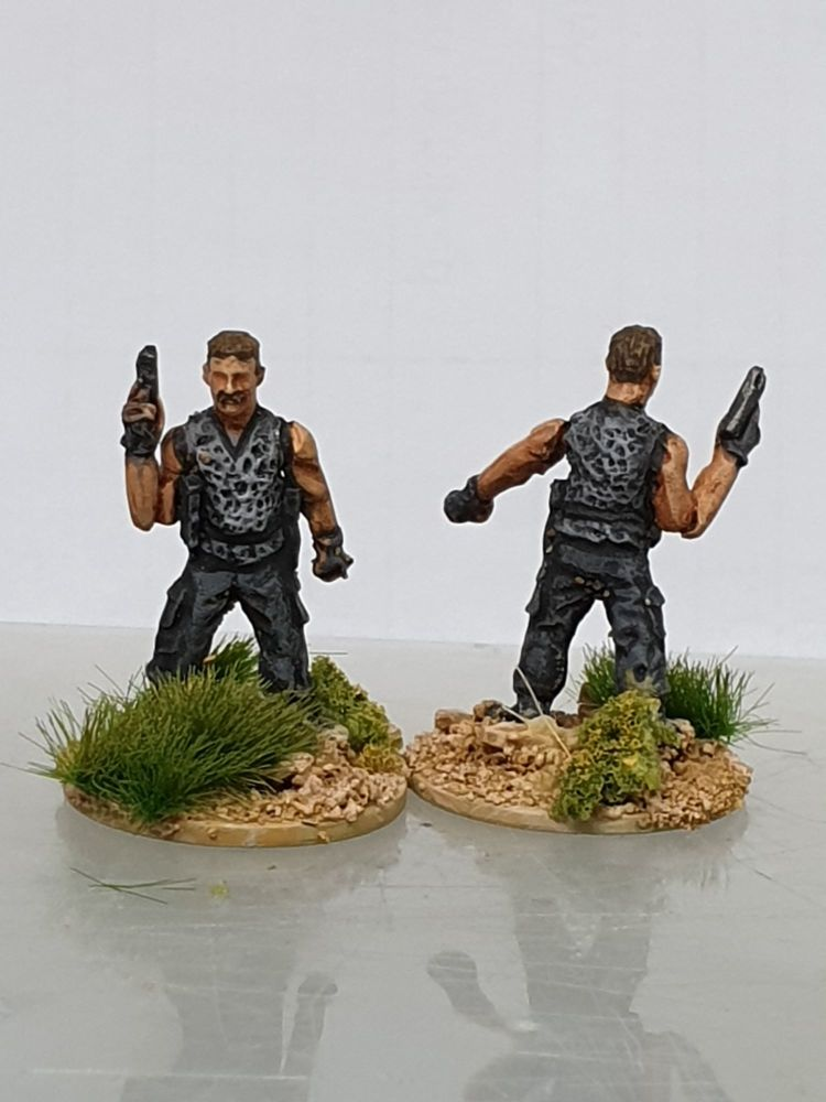 LTD30 Freddy the bad guy. Sadly the miniatures arms are both damaged