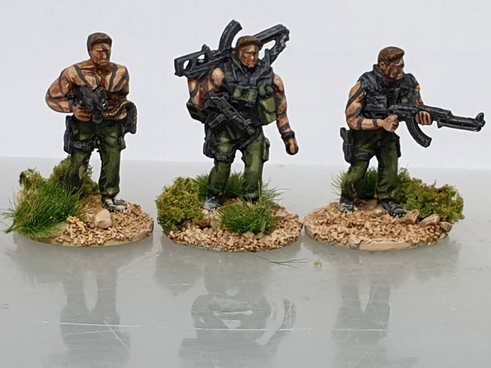 SF34 Special Forces unstoppable heroes. Heavily armed and angry.