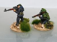VC09 Viet Cong snipers. Female with SVD and Male with Mosin Nagant