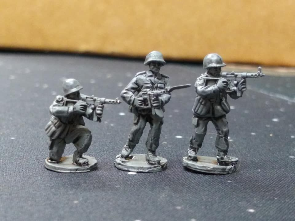 NAT16 Generic NATO NCOs with M45 SMG