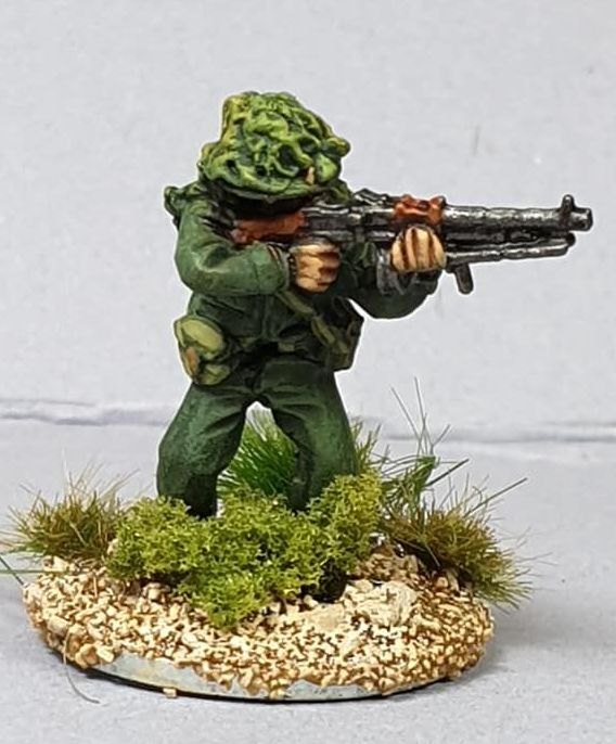 NVA16 North Vietnam Army Sapper with RPD firing in Camouflage