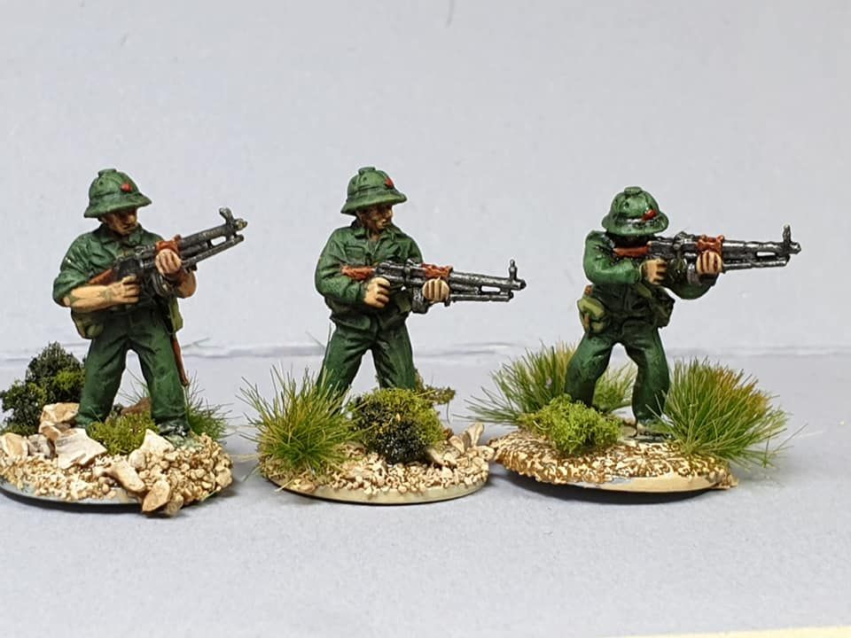 NVA06 North Vietnam Army with RPD LMGs