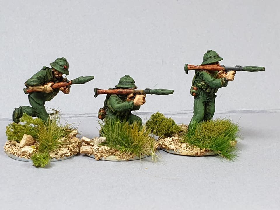 NVA07 North Vietnam Army with RPGs