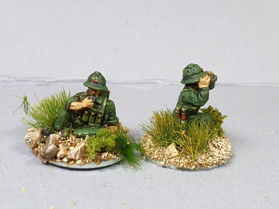 NVA08 North Vietnam Army Spotter Team