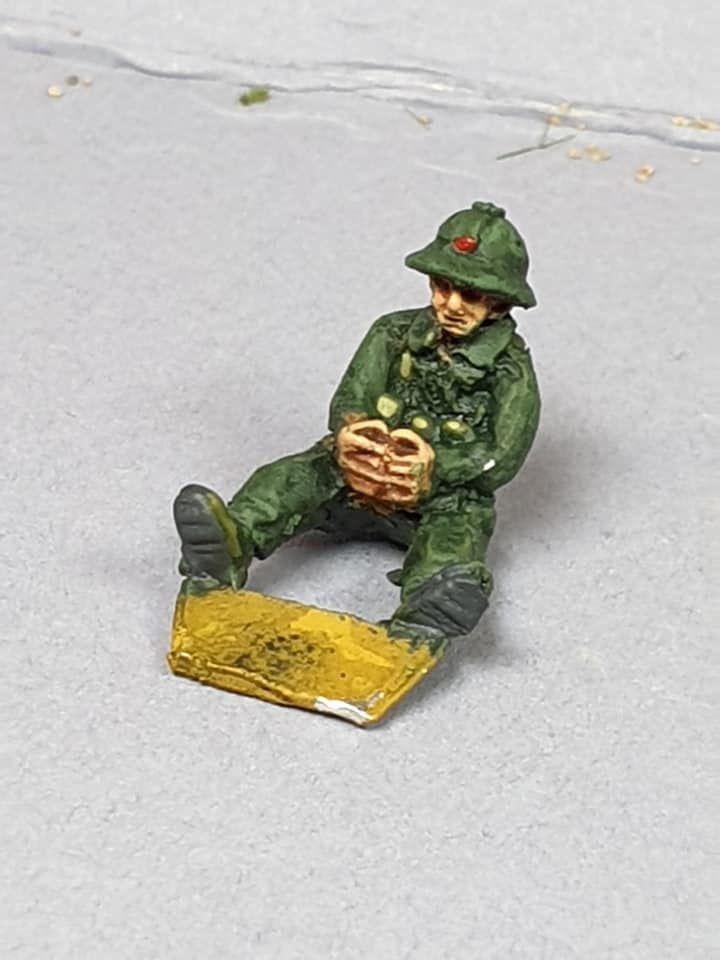 NVA11 North Vietnam Army HMG gunner (no weapon supplied)