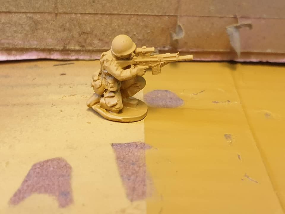NAT23 NATO marksman with G3ZF