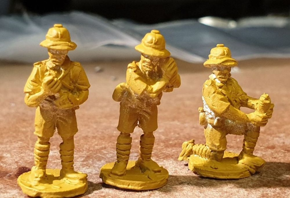 FT09 Tropic French Mortar Team