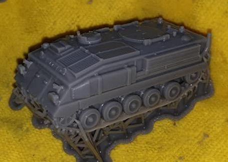 VBA02B FV432 basic version with MUD FLAPS (British Army)