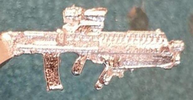 L85A2UGL British Army Bullpup rifle , Grenadier SA80