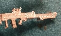 L86A1 British Army Bullpup LSW , support/DMR SA80
