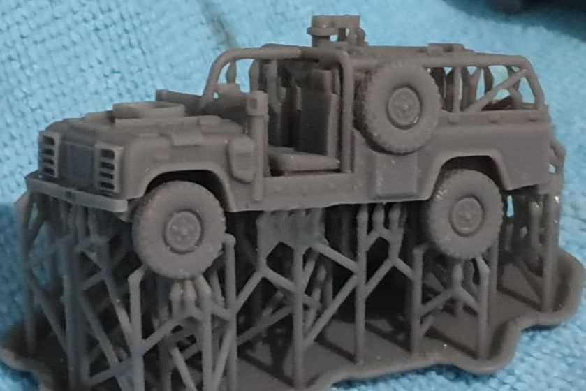VBA12 WMIK Guntruck Early Version. comes with a GPMG and .50 HMG