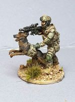LTD17 SEAL DEVGRU RANGER with attack dog
