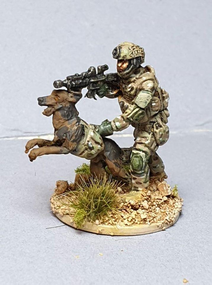 LTD17 SEAL DEVGRU RANGER with attack dog
