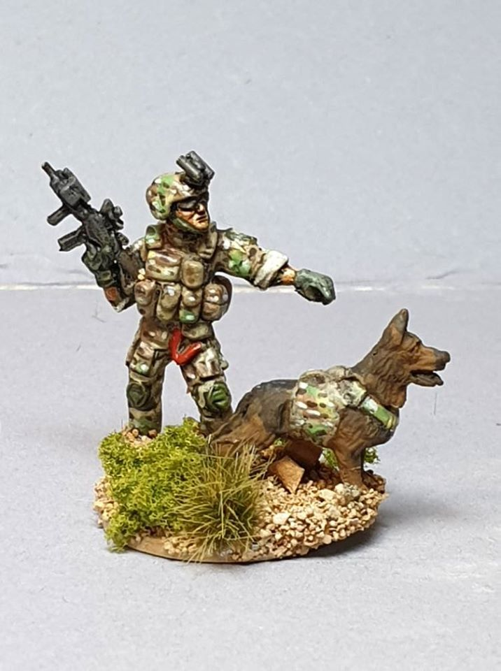 REF12 Ranger Dog Handler and Dog from 2010+