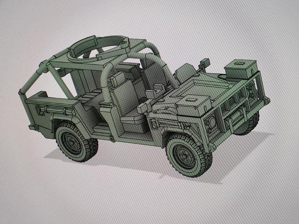 VMUS11 RSOV US Rangers/SF 4x4