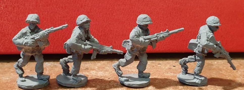 NAT25 NATO FAL C2 SAW (2xC2 2xC1)