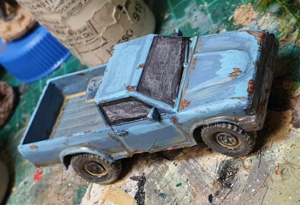VCV02 Generic 4x4 Pickup truck with Off-road wheels
