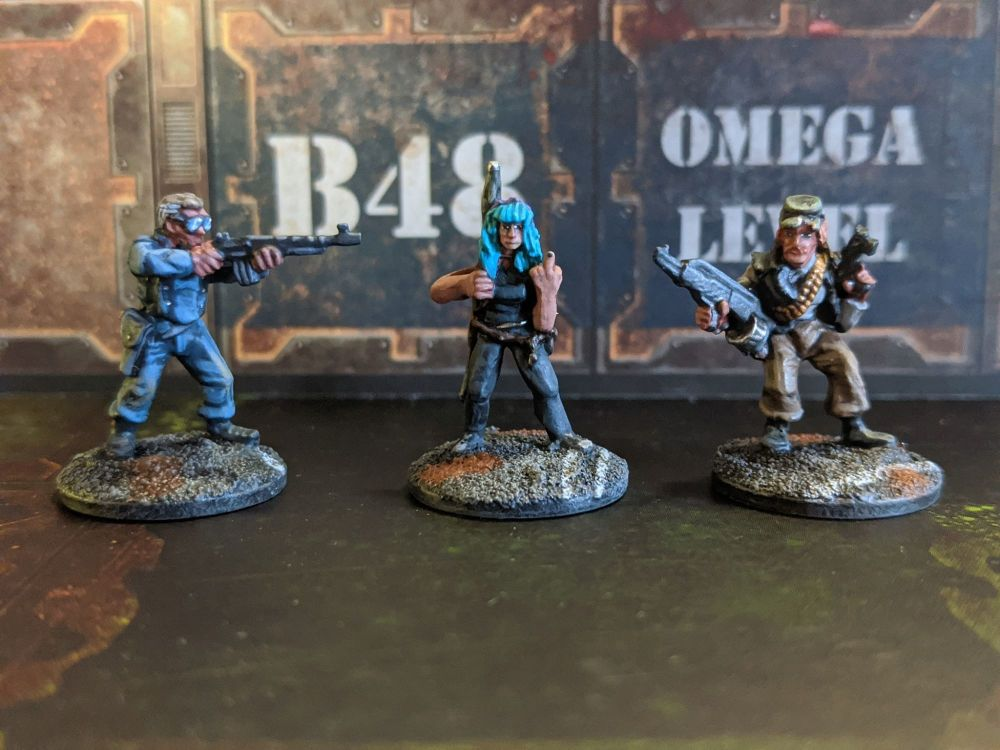 DF27 Wasteland Thugs and renegade cop