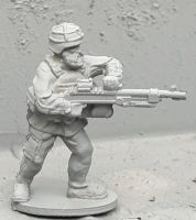 SWD08 Modern Swedish firing ksp58 FNMAG from hip