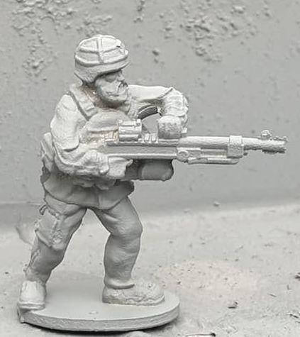 SWD08 Modern Swedish firing ksp58 FNMAG from hip