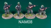 NAM08 - US Army NCO armed with XM177 carbines