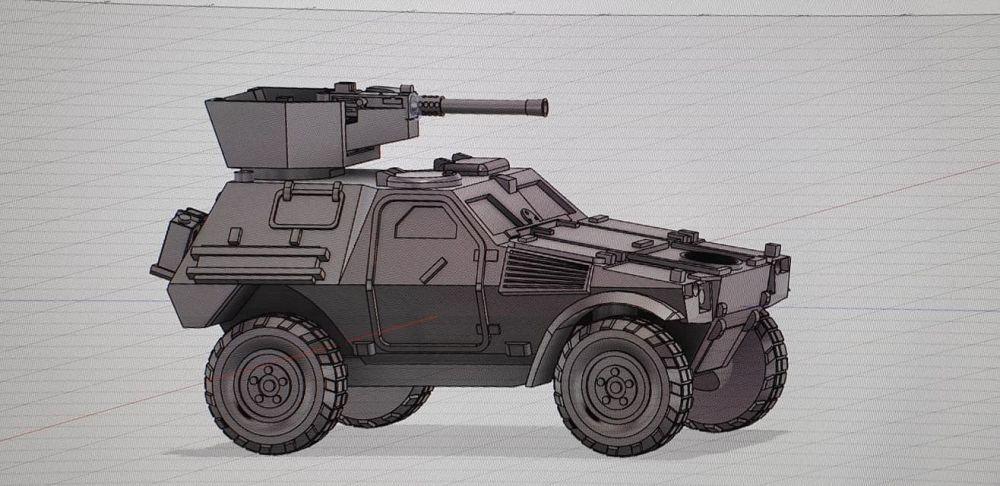 VF04 Panhard VBL AC 50cal turret version