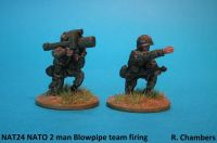 NAT24 NATO 2man Stinger Blowpipe team firing