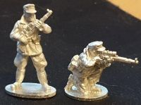 GEB07  Mountain Infantry SNIPERS with K98 High Turret rifles and windproof smocks