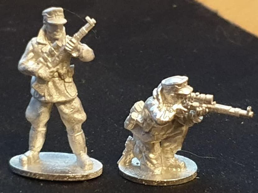 GEB07  Mountain Infantry SNIPERS with K98 High Turret rifles and windproof