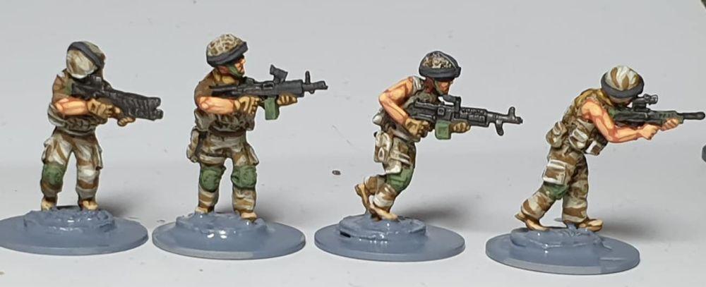 OSP02 British Fireteam 2 in Osprey Armour