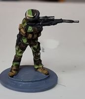 MFR05 Modern French with FR2 Sniper rifle firing