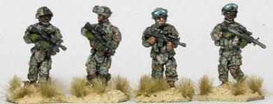IOT01 US Army Patrol fireteam