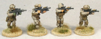 MCA03 USMC Fireteam Skirmish Poses