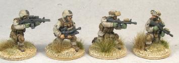 MCA04 USMC Fireteam kneeling