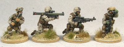 MCA06 USMC Squad Support Weapons