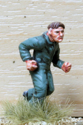 OBJ01 Pilot running with just jump suit
