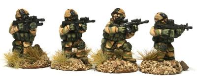 REF07 Rangers in Gorex fireteam crouching