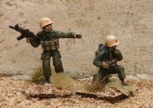 RG07 Iraqi Army NCO and RTO