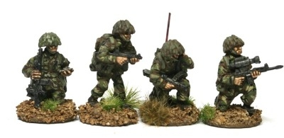BAOR10 British platoon command