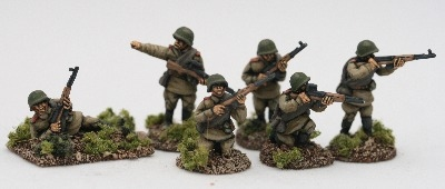 RALS12  Red Army SVT riflemen