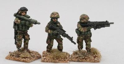 MITA02 Modern Italian Army squad 1