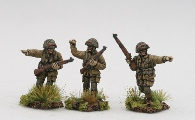 UPN09 US Paras Normandy NCO's with M1 Garands
