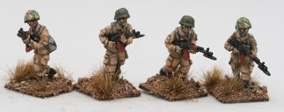 AFG01 Soviet VDV paratrooper riflemen in tropical kit