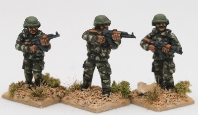 SYR01 Rifleman Skirmish poses
