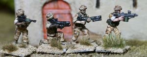 BAV02 Assault Vest Fireteam skirmishing
